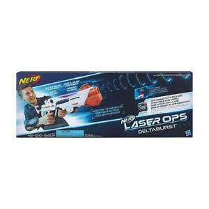 BRAND NERF Laser Ops Pro Delta Burst Combat Blaster