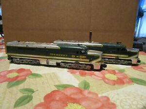 American Flyer, S Gauge, Both 475, Rocket AA Unit Power & Dummy