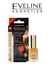 EVELINE Argan Elixir 8 in 1 Intensely Regenerating Oil for Nails Cuticles 12ml