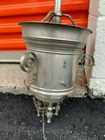 Antique Vintage Gas Chandelier Pendant Steampunk Lighting Fixture Old Light Lamp