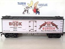 Ho Custom Lettered Burger Beer Freight Car Boxcar Reefer Lot 7