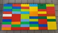 Lego Duplo Bricks Lot of 60 2x4 Stud Bricks Blocks Mixed Assorted SK02