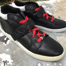 android homme Black Leather Athletic Shoes Men 9 Propulsion