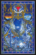 "Aqua Millennium by Peter Pracownik vintage fantasy poster 24.25"" X 36.50"" (b392)"