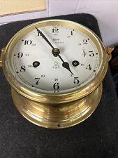 Schatz Royal Mariner Nautical/Maritime Ship Clock, 8-Bell Missing key