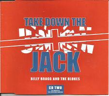 BILLY BRAGG Take Down Union Jack REMIX & UNRELEASE CD single SEALED USA seller