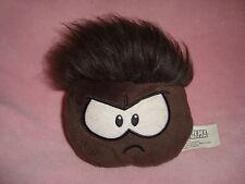 Disney Club Penguin Plush Brown grey Puffle  No Coin Jakks Pacific