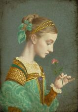 James Christensen First Rose SmallWorks Canvas Edition