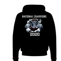 Alabama Crimson Tide Playoff 2020 National Champions Locker Room Pullover Hoodie
