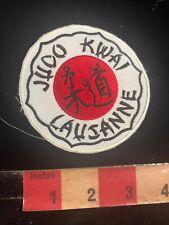 Judo Kwai Laujanne Martial Arts Patch 01Rn