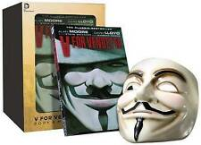 V For Vendetta Deluxe Collectors Set Mask Anonymous Guy Fawkes Graphic Novel Box