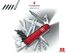 Victorinox Swiss Army Knife 91mm LED Light CyberTool Lite Red 1.7925.T