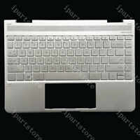 EJTONG New for HP Spectre 13-ae000 13t-ae000 13-ae011dx 13-ae012dx Keyboard Backlit Silver 920694-001