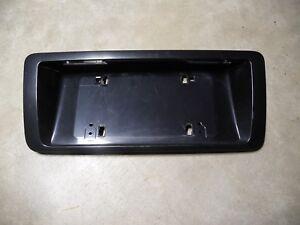 OEM Audi Rear License Plate Pocket Holder D2 A8L A8 S8 LZ1T Cashmere Gray Grey