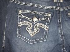Lane Bryant Seven7 Womens ROCKER SLIM Jeans Embellished Jewels sz 18 (NEW)