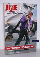 G.I. Joe Navy Aviation Fuel Handler Classic Collection Limited 1997 Kenner