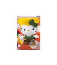 "Street Fighter x Sanrio Hello Kitty 6"" Mini Plush 2 Guile"