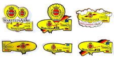 WARSTEINER BALLON Pin / Pins - ZEPPELIN / LUFTSCHIFF - 6 PINS!!!!!!!! (3268)
