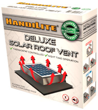 Solar Roof Vent Deluxe 200mm - Whirlybird Substitute