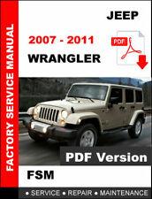 2010 Jeep Wrangler Factory Service Repair Workshop Shop Manual USB ...