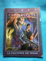 Rol - Gurps - Cthulhupunk - La Factoría RL816
