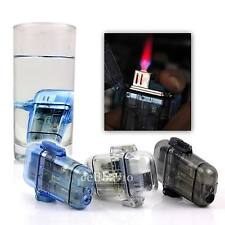 Blue/Black/White Windproof Jet Hot Pink Flame Cigarette Cigar Butane Gas Lighter
