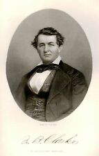 """""""Eminent Americans"""" -1853- HON. WILLIAM CLARKE of MD."""