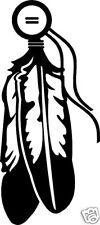 feathers  / vinyl sticker / western decal
