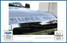 2008 <-> 2016 Super Duty Grille Letters Inserts Decals Realtree Camo AP hood