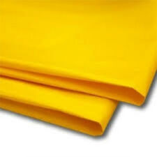 "50 Sheets Yellow Tissue Paper 20"" x 30"" 500mm x 750mm Acid Free"
