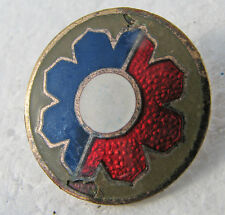 9th Infantry Division repaired pinback now clutchback