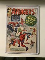The Avengers #6 - 6.0 FN Condition - First App Baron Zemo /Masters of Evil