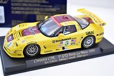 88025 FLY CAR MODELS 1/32 SLOT CARS CORVETTE C5R 1 GTS PETTIT LEMANS 2002 A129