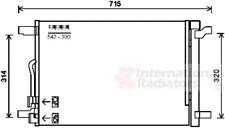 Kondensator Klimaanlage - van Wezel 58005335