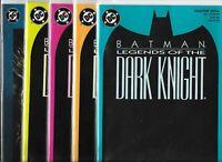 Batman: Legends of the Dark Knight various copies  Lot of 10 (1989, DC Comics)