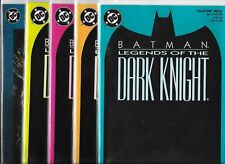 Batman: Legends of the Dark Knight various copies  Lot of 10 (1989, DC Comics)