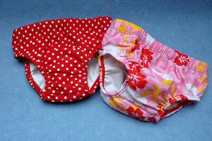 Babybadehose, UV-Schutz Windelbadehose, in zwei tollen Designs, Gr. 74 - 92