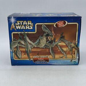 Hasbro Star Wars Saga Acklay Arena Battle Beast 2002 Real Feel Battle Damage USA
