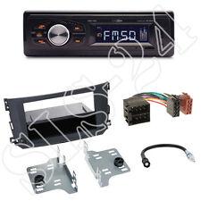 CALIBER rmd022 radio + ARANCIONE SMART FORTWO (a/c-451) pannello frontale nero + Adattatore ISO