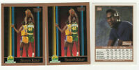 9 count lot 1990/91 Skybox Shawn Kemp Rookie Cards! SEATTLE SUPERSONICS! RC LOT!
