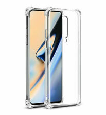 For OnePlus7 OnePlus7 Pro Clear Slim Soft TPU Silicone Bumper Back Case Cover dk