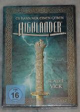 Highlander - Saison Série 4 QUATRE COMPLET DVD Coffret Édition Limitée région 2