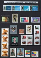 US 2002 NH Commemorative Year Vers #2S (of 5)- 63 Stamps COMPARE! -Free USA Ship