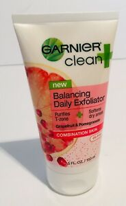 Garnier Clean + Balancing Daily Exfoliator For Combination Skin 5 oz ~ New