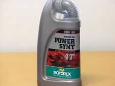 Motorex Power Synt 4T 10W/50 vollsynthetisches 4Taktöl  1 Ltr