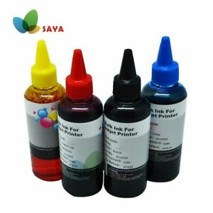 400ml Universal Refill Ink Kit For Epson Canon Hp Lexmark Dell Kodak Inkjet