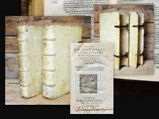 1567 Schweinsleder auf Holzdeckeln mit Schließen Jura Corpus iuris NUR 2 Bde