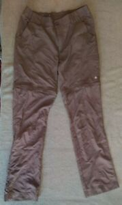 Columbia Women's Psych To Hike  Convertible Roll-up Pants Size 6Regular