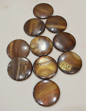 Beads Capiz Gold Shell Round Beads Necklaces Shell Beads 35mm