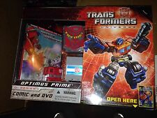 Transformers Universe G1 Optimus Prime 25th Anniversary With Comic Dvd